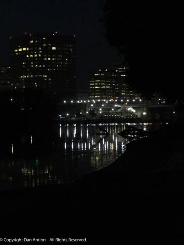 I'm getting to the park around 6:15 am - it's dark.
