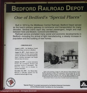 """""""Bedford Depot served as the town's primary gateway to commerce and transportation for many decades..."""""""