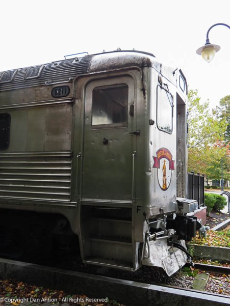 I think you can tour the rail car on weekends and I read that you can rent it for special occasions, It doesn't move, but it still would be cool.