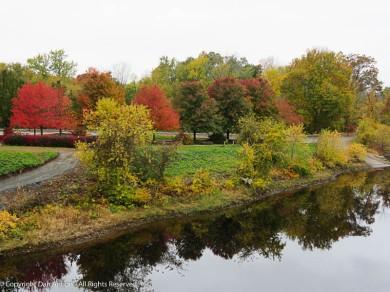 Along the Farmington River.