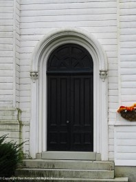 Side door to First Church.