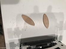 Biscuits - compressed wood splines.