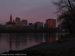 Hartford from Great River Park. I would never have seen this, as it was much later than my old commuting time.