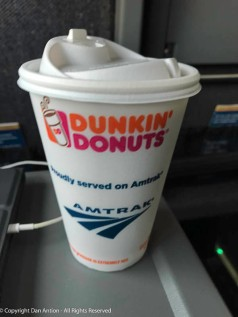 Another good reason for choosing AMTRAK.