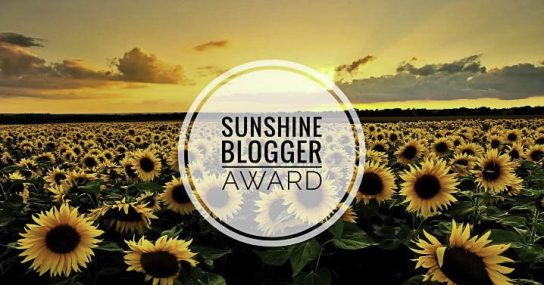 sunshine blogger award - sunflower-1