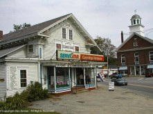 Modern hardware store, historic general store, or both?