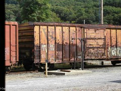 This old boxcar needs some TLC.
