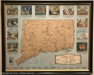 This map contains all the important information about Connecticut.