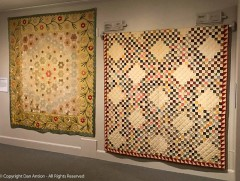 Not all the quilts were this large or this vibrant.