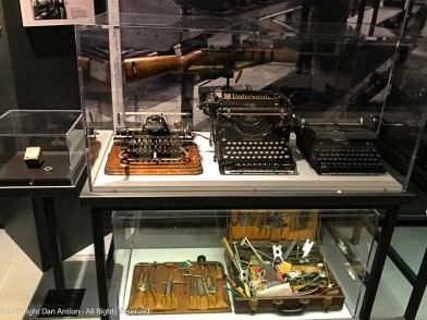 Lot's of typewriters were made in Connecticut.