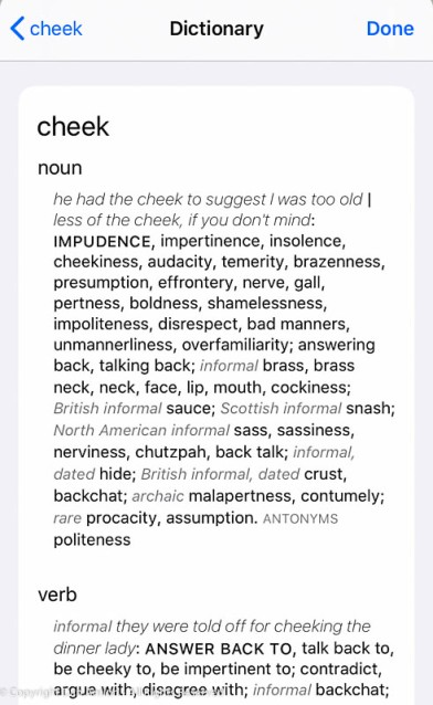 Seriously - look at that definition and tell me it's not talking about Skippy.