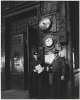 This was part of a comical post by Brad - The Weehawken Ferry Story [Two employees in the Weehawken Ferry Terminal.] :1956 - Burden