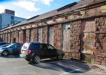 The west armory renovation hasn't begin yet.