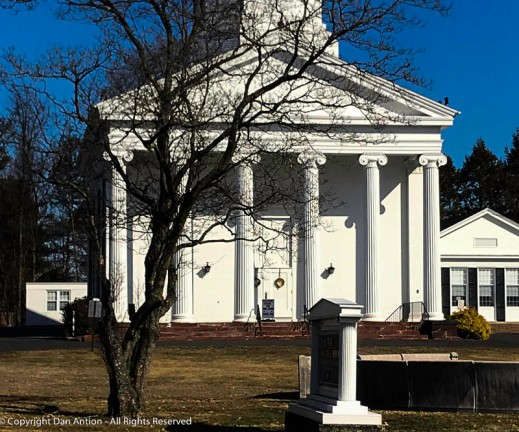 Front doors, Enfield Congregational Church