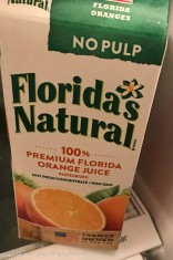 Apparently we drink this juice. Who knew?
