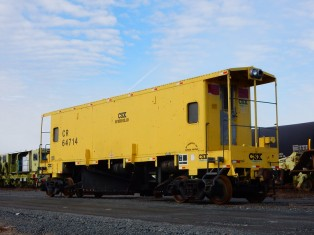 CSX Maintenance car.