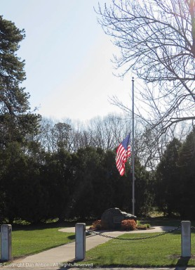 Connecticut is one of about a dozen states to lower flags to half staff for the virus victims.