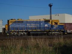 New England Central Locomotive.