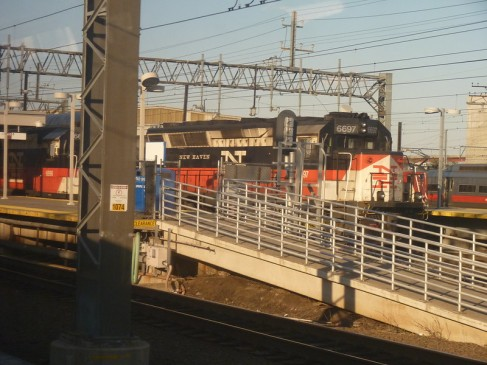 You might recognize my favorite locomotive - New Haven Railroad