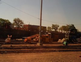 """More track cleaning equipment. I can only imagine Faith thinking """"Foreign Containment"""" as the little guy in WALL-E M-O"""