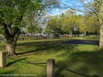 Empty parks are sad.