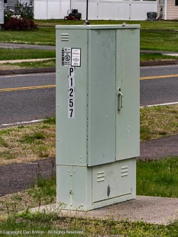 This is an AT&T cabinet. These days, that would mean data.