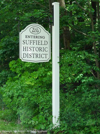 Welcome to the Suffield Historic District