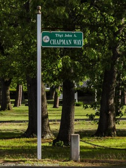 I didn't know TSgt. Chapman, but I remember when he died and I remember when they changed the name of this road.