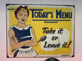 As seen at the little diner we love (still for takeout).