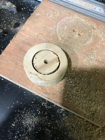 Outer ring is now a bushing