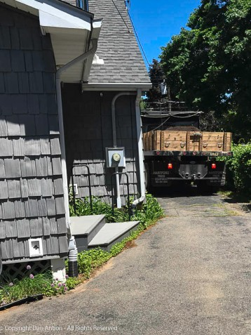 I wish that was lumber. I do not enjoy yard work.