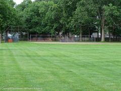 They are getting the fields ready for some youth sports later this month.