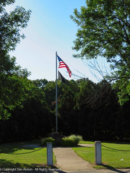 This flag has been up and down like a yo-yo lately, It's good to see it flying high.