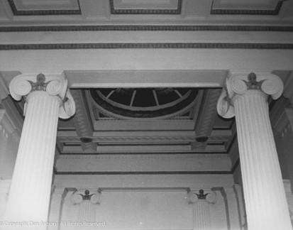 Inside the Burnham Library.