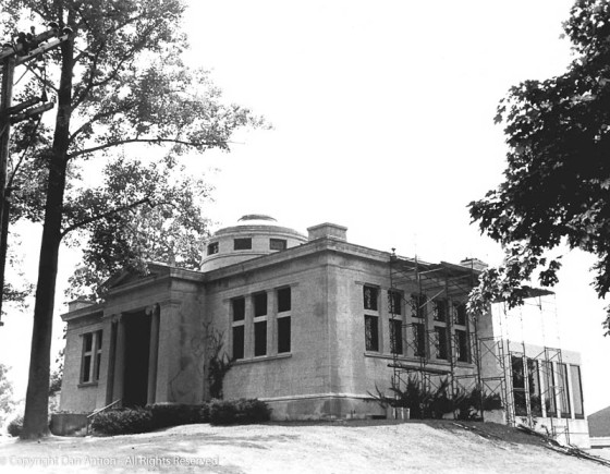 Burnham Library - until 1972, this was the the library for the Town of Suffield. It was sold to Suffield Academy when the Kent Library was built.