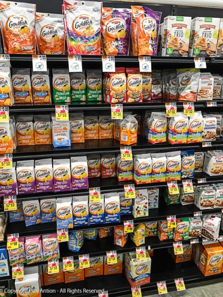 How many kinds of Goldfish can they make?
