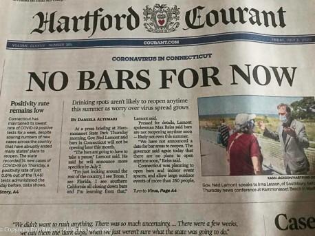 Friday's headline.