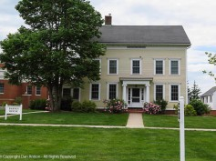Barnes House - This is immediately north of Brewster Hall and serves as a faculty residence.