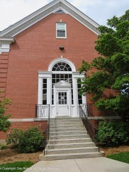 Side entrance to Memorial Hall.