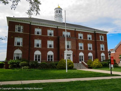 Another view of Fuller Hall