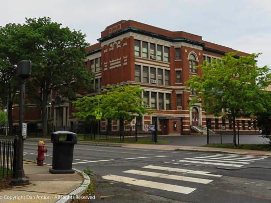 Betances Elementary School, near downtown Hartford.