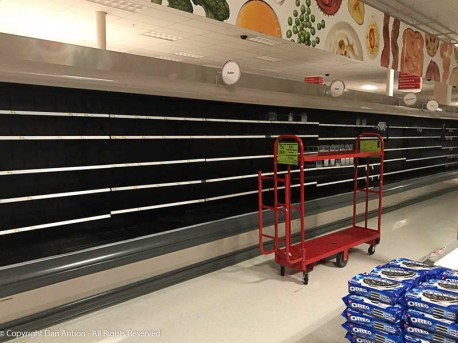 Target doesn't seem to have enough backup power to keep the refrigeration units and freezers running.