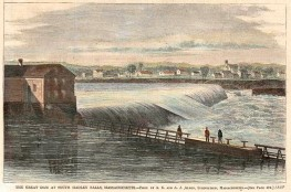 Wikipeadia Commons historic image of the second dam.