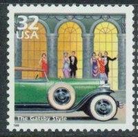 Great Gatsby Stamp