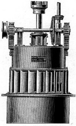 The Holyoke Hercules water-powered turbine.
