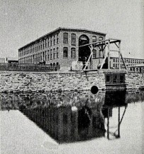 The Holyoke Testing Flume as it appeared in 1895; designed by Clemens Herschel, this facility would lead to the development of the McCormick-Holyoke Turbine.