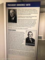 President Roosevelt acted to gear up production of military equipment, initially to supply England and other allies in the war against Germany. He invited William Knudsen