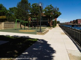 The first level canal is the most complete. There is a large playground adjacent to Holyoke Heritage State P.ark