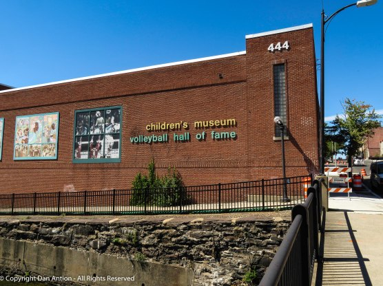 Holyoke is the birthplace of Volleyball and the home of the hall of fame. This is on the upper edge of the first level canal.