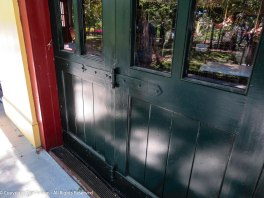 I love the hardware that allows the merry-go-round doors to be folded completely out of the way.